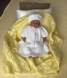 Crocheted Baby Wear
